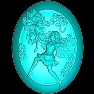 Бегущая фея (силиконовая форма)