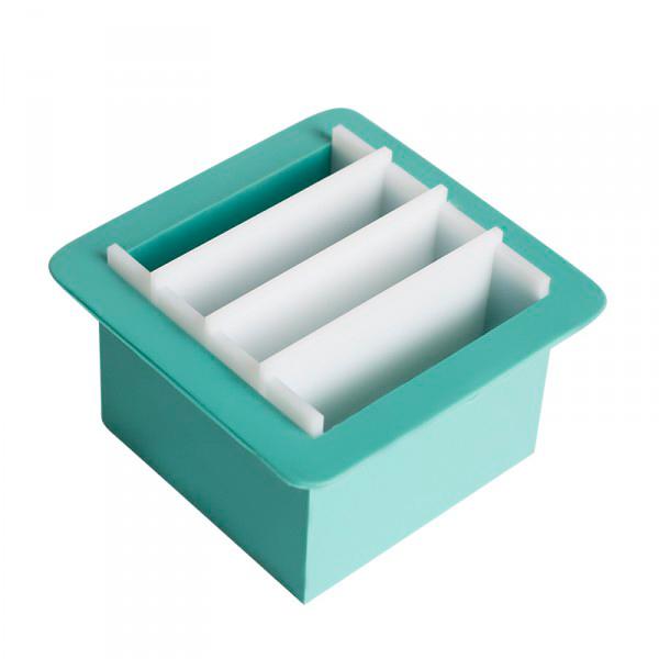 Форма куб силиконовый для мыла под нарезку
