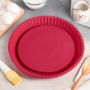 Форма силиконовая круг 8 см