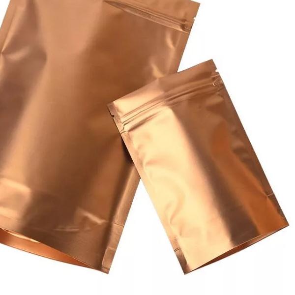 Пакет Шоколадный металлик