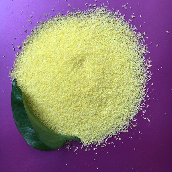 Абразив косметический полиэтиленовый (желтый)