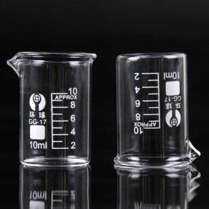 Стакан лабораторный 10 мл термостойкий