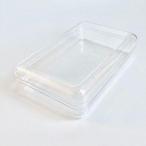 Пластиковая коробочка (твердый пластик)